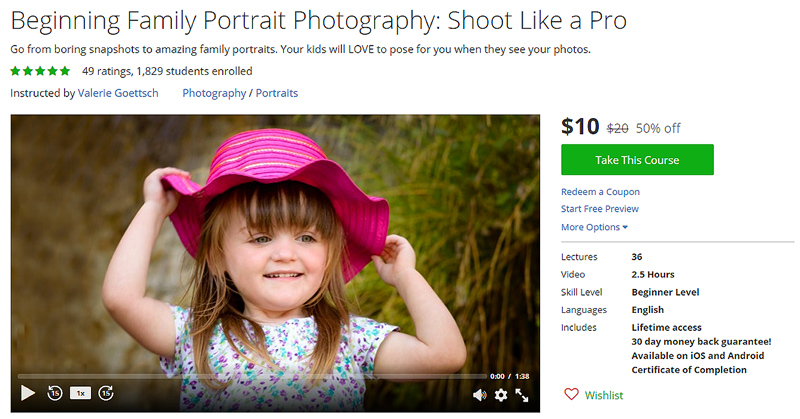 Learn how to take portraits with your DSLR