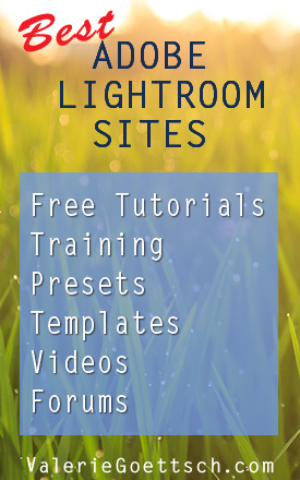 Best Adobe Lightroom Sites - tutorials, training, free andpaid presets, videos, templates, forums