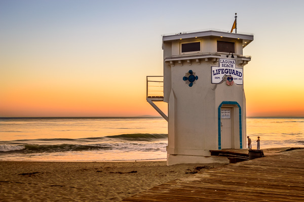 Laguna Beach Lifeguard Station