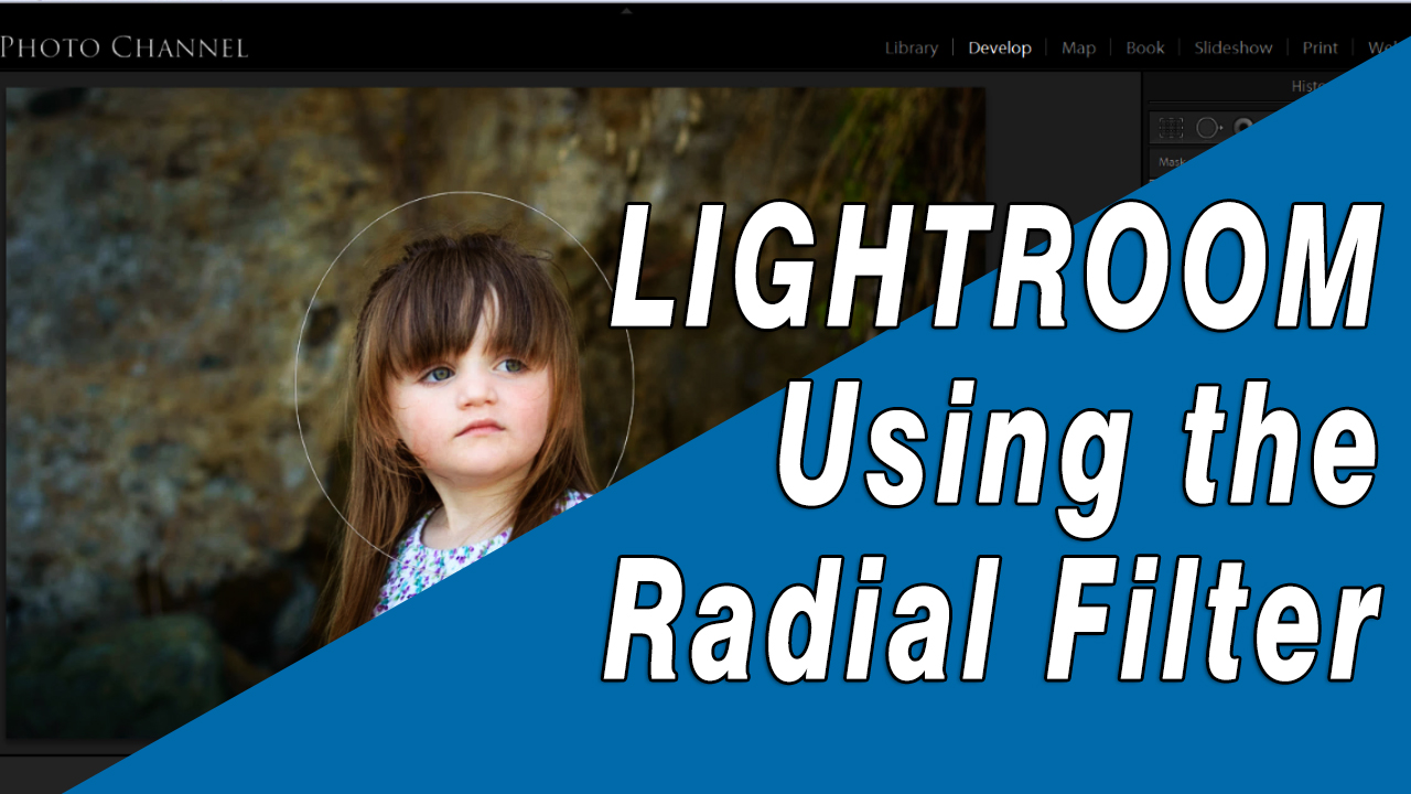Lightroom Tutorial: How to Use the radial Filter to spotlight an element of you image