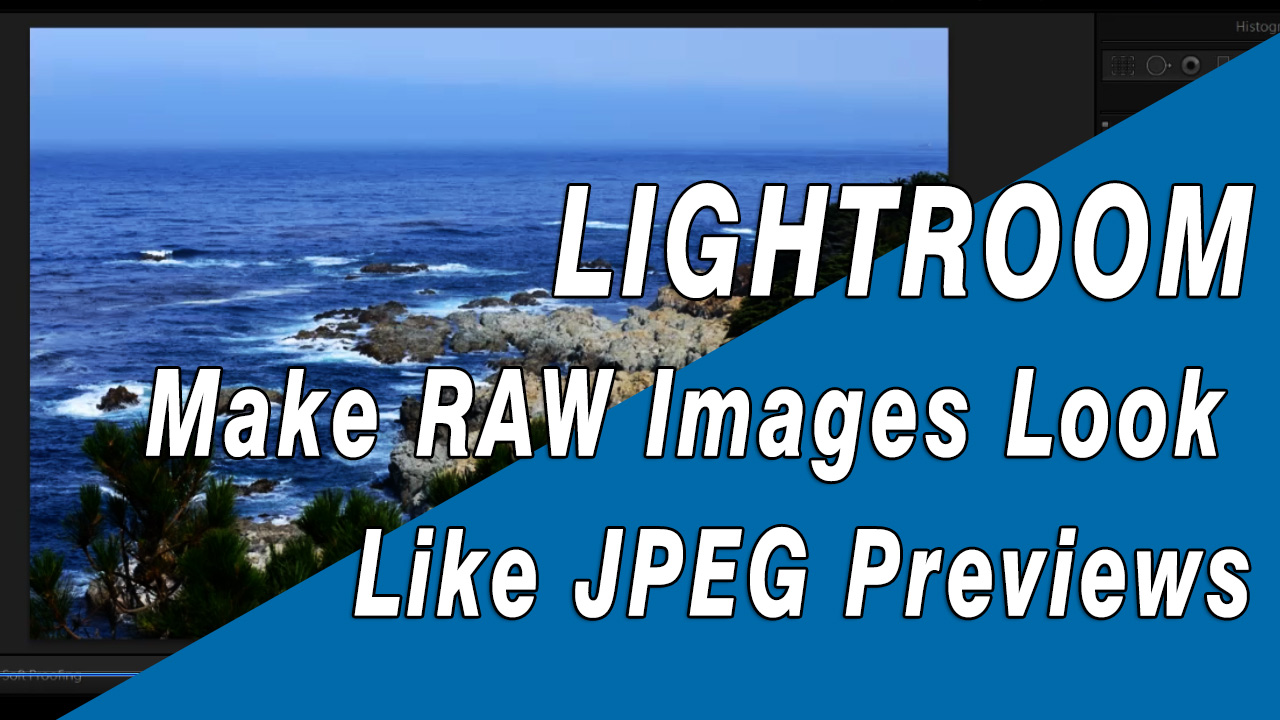 Here's the trick to making your raw images look more like the jpeg previews when you import them into Lightroom