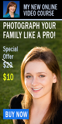 Take photos of your family like a pro with my new online video course